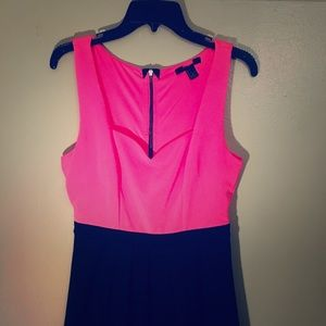 Cute Pink/Black Dress